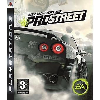 Need for Speed Pro Street (PS3) - Nouveau