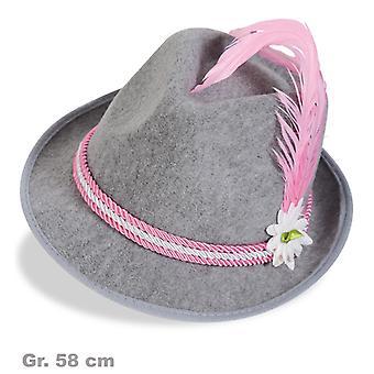 Bayernhut Seppelhut Herrenhut Bayern Oktoberfest Hatband roz