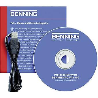 Benning Software PC-Win ST 750 Measurement Compatible with (diagostics accessories) Benning Benning ST 750