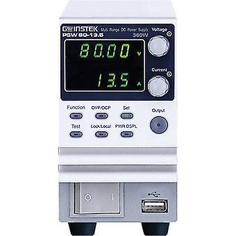 GW Instek PSW80-13.5 Bench PSU (adjustable voltage) 0 - 80 V DC 0 - 13 A 360 W No. of outputs 1 x