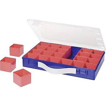 Caja de surtido de H-nersdorff (L x W x H) 332 x 232 x 55 mm No. de compartimentos: 24 compartimentos variables 1 ud(s)