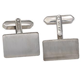 Запонки запонки 925 стерлингового серебра родия покрытием отделка