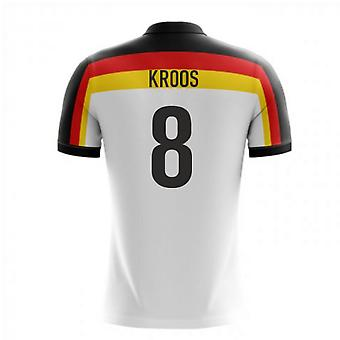 2020-2021 Germany Home Concept Football Shirt (Kroos 8)