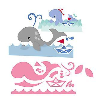 Marianne Design Oggetti da collezione Dies taglio - Eline's Whale Die