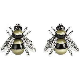 Simon Carter Darwin Bee Cufflinks - Gold/Black