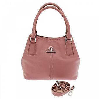 Ilex Grab Handle Handbag With Shoulder Strap