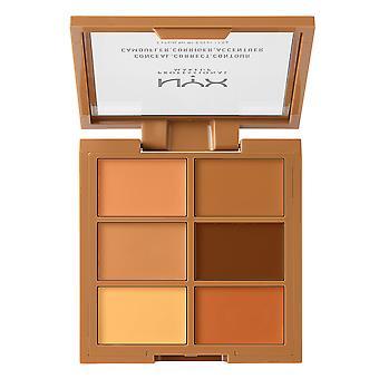 NYX PROF. MAKEUP 3C Palette Conceal Correct Contour Deep