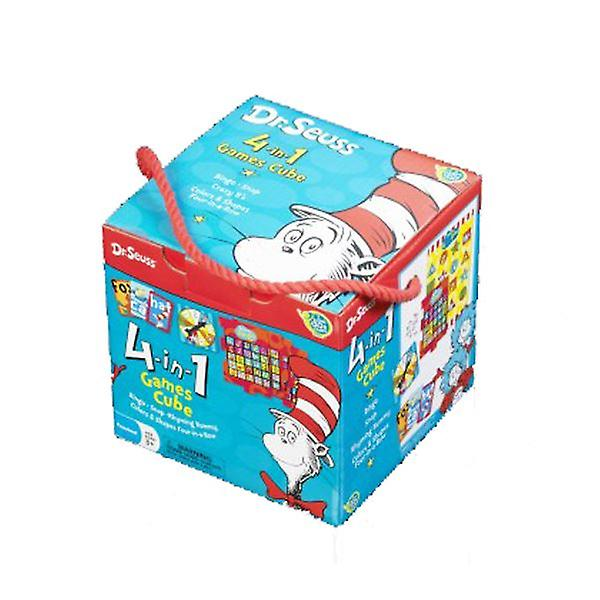 Dr Seuss 4 in 1 Game Cube for Pre-School 3 Years+ Paul Lamond Games