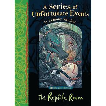 El cuarto del reptil de Lemony Snicket - libro 9781405266079
