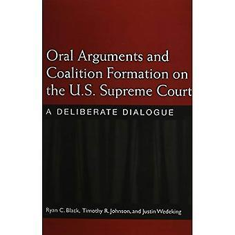 Mündlich verhandelt und Koalition Bildung auf der U.S. Supreme Court: eine bewusste Dialog