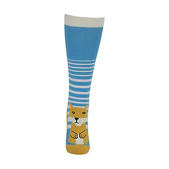 HyFASHION Adults Mr Foxy Socks (Pack of 2 Pairs)