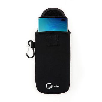 مبتكر النيوبرين حقيبة واقية حقيبة سامسونج غالاكسي S10 / S10 + 2019 - أسود