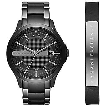 Armani Exchange Mens Quartz Analog Watch with stainless steel band AX7101