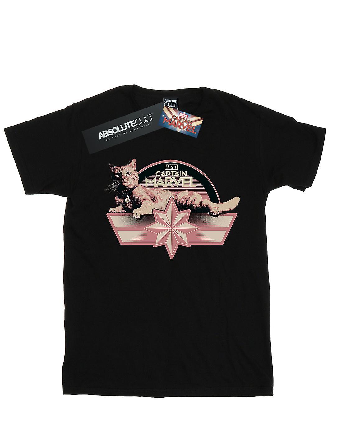 Marvel Men's Captain Marvel Chillin Goose T-Shirt