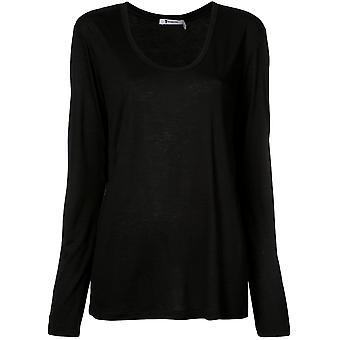 Alexander Wang 4c281003a0001 Women's Black Synthetic Fibers Sweater