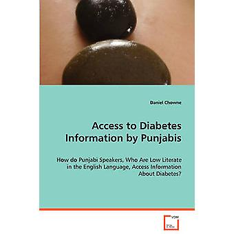 Access to Diabetes Information by Punjabis by Chowne & Daniel
