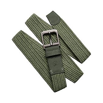 Arcade Norrland Webbing Belt in Dark Green/Green