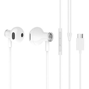 XiaoMI BRE02JY USB-C Casque intra-auriculaire - Mic-White