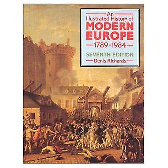 Geïllustreerde geschiedenis van het moderne Europa, 1789-1984