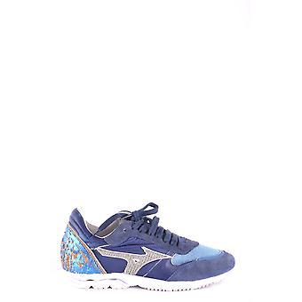 Mizuno Ezbc199003 Män's Blå läder sneakers