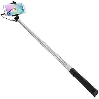 Forever Telescopic Selfie Pole Smartphone Connection Jack 3.5 Foldable 145 °