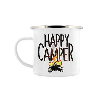Grindstore Happy Camper Enamel Mug