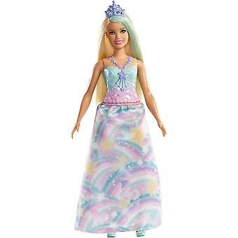 Barbie FXT14 Dreamtopia Princess Doll Wearing Rainbow Outfit