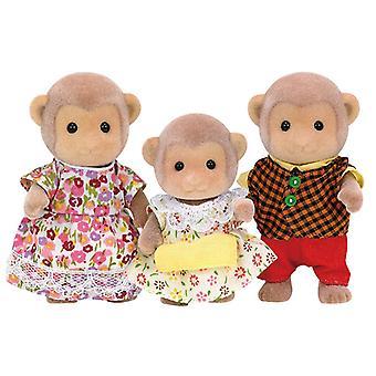 Les familles sylvanian singe ensemble famille