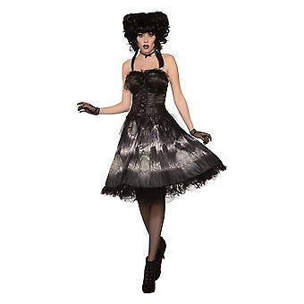 Bristol nyhed Womens/Ladies Cemetery dukke kjole