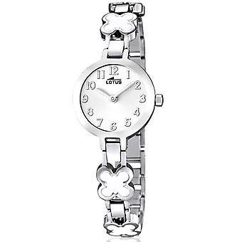 Lotus junior Quartz Analog Women's Watch with 15828/1 Stainless Steel Bracelet