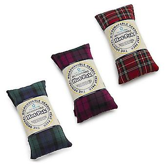 Warmies Heatable Pad Tartan Microwavable Neck Wrap Body Hot Pak Lavender Scented