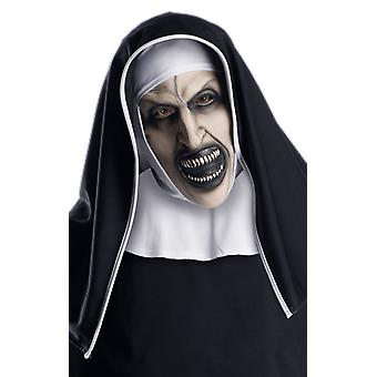 Rubie's The Nun Mask Zombie Horror Halloween Fancy Dress Costume Accessory