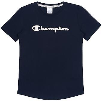 Champion camiseta femenina cuello redondo 112019