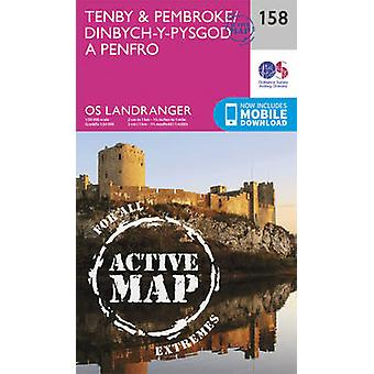 Tenby & Pembroke by Ordnance Survey - 9780319474815 Book