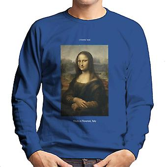 A.P.O.H Da Vinci Mona Lisa Made In Florence Italy Men's Sweatshirt
