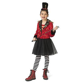 Zirkus Direktorin Mädchenkostüm Manage Zirkusdirektor Domteur Mädchen Kostüm