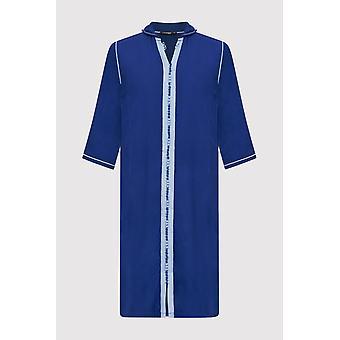 Djellaba jad Boy ' s Hooded lange mouw full-length gewaad Thobe in Royal Blue (2-12 jaar)