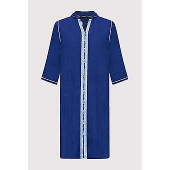 Djellaba jad boy's Kapuze nlangärmelige Robe thobe in königsblau (2-12yrs)