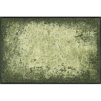 lavagem + Dry capacho máscaras de design verde capacho lavável sujeira esteira do corredor