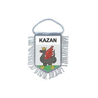 Flag Mini Flag Country Car Decoration Souvenir Blason Kazan Russia