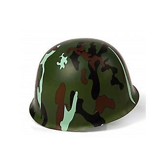 Casco de camuflaje del ejército de plástico