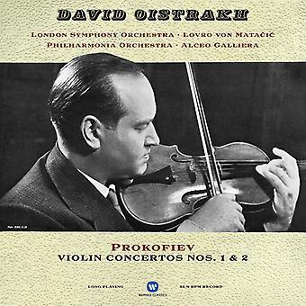 Prokofiev / Oistrakh / Matacic / Galliera - Violin Concertos [Vinyl] USA import