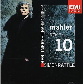 Sir Simon Rattle - Mahler: Symphony 10 [CD] USA import
