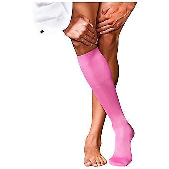 Falke No9 Pure fil D ' Ecosse kne høy sokker-peon rosa