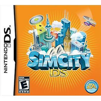 Jeu de Sim City Nintendo DS