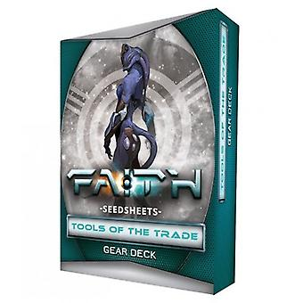 FAITH The Sci-Fi RPG Second Edition Seedsheets Tools of the Trade I Gear Deck