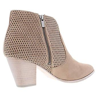 Frye Womens Jennifer Suede Ankle Booties Taupe 6.5 Medium (B,M)