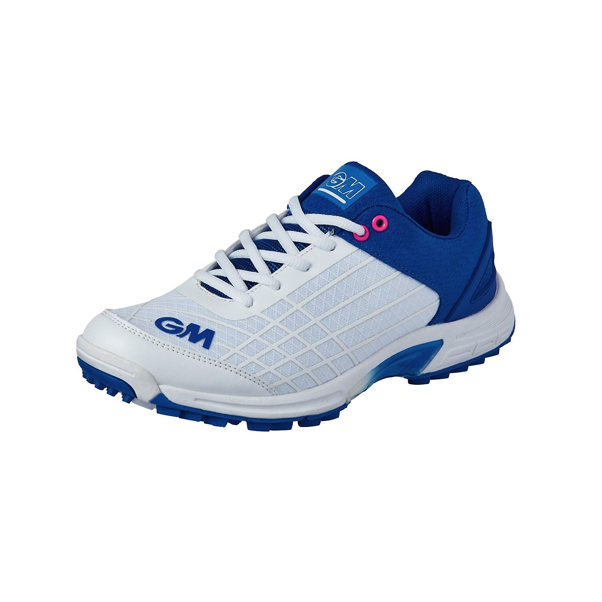 Gunn & Moore 2020 All Rounder Junior Kids Cricket Shoe Blue/White