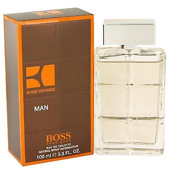 Boss oranssi eau de toilette spray hugo pomo 482907 100 ml