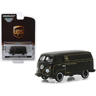 Volkswagen Panel Van Dark Brown United Parcel Service (UPS) Hobby Exclusive 1/64 Diecast Model Car by Greenlight